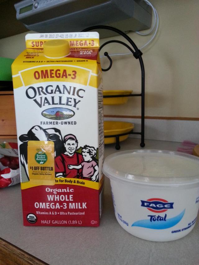 Milk and Yogurt